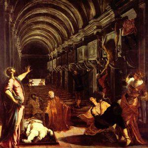 Тинторетто. Обретение мощей апостола Марка (1548)