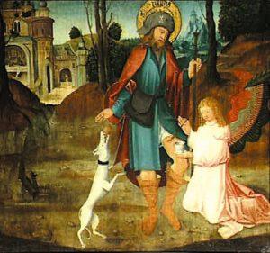Исцеление ран святого Роха
