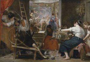 «Пряхи» (1658, Прадо, Мадрид) Диего Веласкес