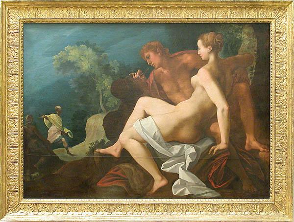 Toussaint DUBREUIL Paris ?, vers 1561 - Paris, 1602 Angélique et Médor