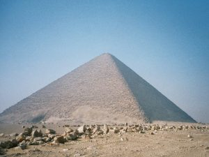 «Красная» пирамида Снофру В Дашуре