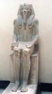Статуя Сенусерта I