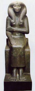 Статуя Нофрет, жены Сенусерта II