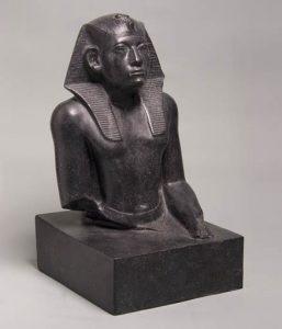 Портрет Аменемхета III. ГМИИ