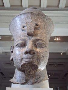 Аменхотеп III. Голова из Британского музея