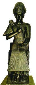 Тронная статуя Рамзеса II из Туринского музея