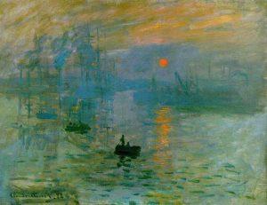 «Впечатление. Восходящее солнце», 1872 г., Музей Мармоттан-Моне, Париж