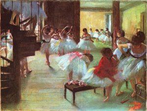Балетная школа. Эдгар Дега