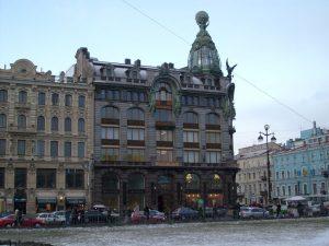 Дом компании «Зингер» (ныне - штаб-квартира компании Вконтакте) в Санкт-Петербурге.