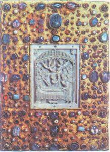 Оклад Евангелария Оттона III, ок. 1000 г. Мюнхен, Баварская Государственная Библиотека