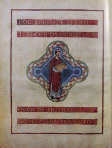 «Евангелие Лютхара». Райхенау. Ок. 996 г. Аахен, сокровищница собора. Рукопись без шифра. Л. 15