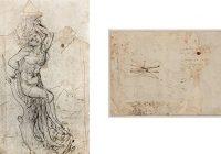 Во Франции найден рисунок Леонардо да Винчи, признанный подлинным
