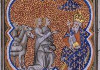 Французская историческая миниатюра XIV в. (Большие Французские Хроники)