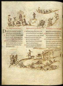 Utrecht, Bibliotheek der Rijeksuniversiteit, Cat. Cod. Ms. Bibl. Rhenotraiectinae 1, fol. 30v