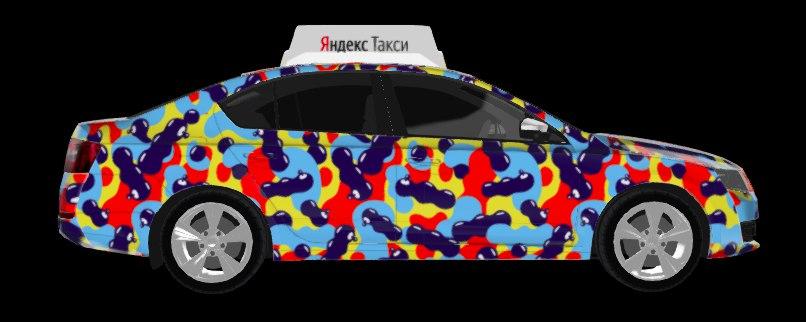 a5cab5cc9 Десять лучших работ будут перенесены на автомобили Яндекс.Такси : они  появятся в Петербурге весной и будут возить пассажиров целый год.