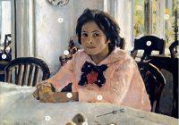 Святослав Зеленский. 12 интересных фактов о «Девочке с персиками»