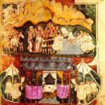 Ашбернхем Моисей получает скрижали Завета. Ковчег Завета в пустыне