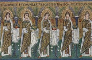 Сан Аполлинаре Нуово Процессия св. мучениц
