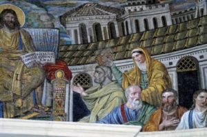 Санта Пуденциана Увенчание апостола Петра