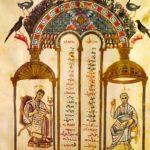 Рабула Евангелисты Матфей и Иоанн