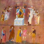 Россано Христос перед Пилатом