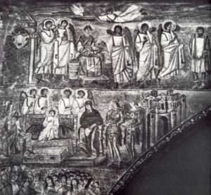 Санта Мария Маджоре Благовещение Неверие Иосифа Рождество Христово Триумфальная арка