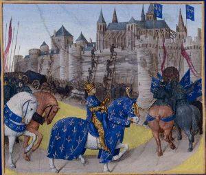 La prise de Tours en 1189, f.223.