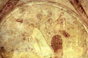 Сцены из жития св. Стефана, церковь Сен Жермен в Осере