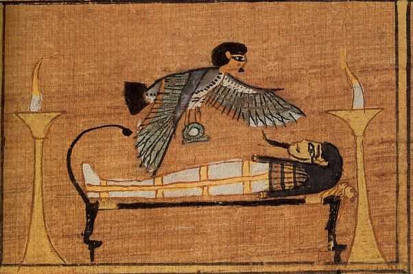 Книга мёртвых Ани (Египетская Книга мёртвых, ок. 1200 г. до н.э., Западные Фивы, Египет \ Британский музей, Берлин, Бруклин)