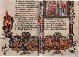 Рукопись Виллегальма. Фрагмент. 1392-1393