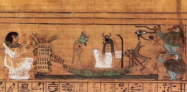 Книжная миниатюра Древнего Египта