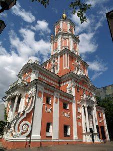 Церковь Архангела Гавриила. 1703–1707, Москва. Мастер Иван Зарудный