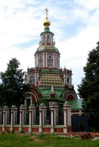 Церковь Иоанна Воина на Якиманке (1709–1717)