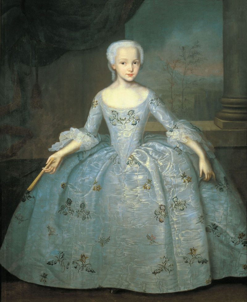И.Я. Вишняков. Портрет Сарры Элеоноры Фермор (ок. 1750)