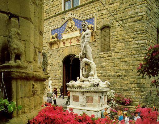 Бандинелли, Баччо. Геракл и Как (у входа в Палаццо Веккио)