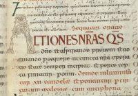 Шерборнский Понтификал (988,Париж, Национальная Библиотека / Шерборн — Кентерберри-Дунстан?)