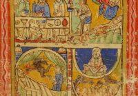 Псалтирь Св. Эдвина (сер. XII в., 1155-1160, Кентерберри \ Британская библиотека)