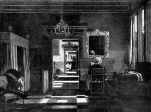 Эмануэль де Витте. Интерьер с женщиной у клавесина. Ок. 1668 г. Роттердам, музей Бойманс-ван Бейнинген