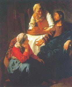 «Христос у Марфы и Марии» (Эдинбург, Национальная галерея)