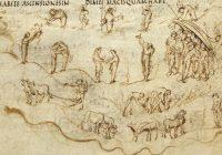 Утрехтская Псалтирь (820—835 гг, Отвильер, Шампань \ университетская библиотека Утрехта)