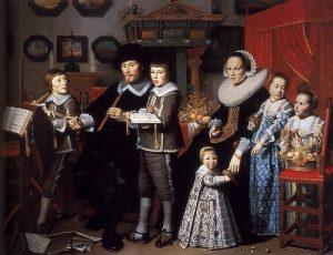 Hendrick Cornelisz. van Vliet. Portrait of Michiel van der Dussen and His Family
