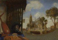 Делфтская школа живописи в Голландии XVII в.
