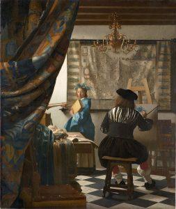 «Искусство живописи». Ян Вермеер Дельфтский, ок. 1666-1667 гг.