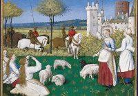 Часослов Этьена Шевалье (1452—1460, Жан Фуке, Франция \ Музей Конде, Шантийи)