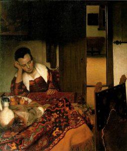 Спящая девушка. 1656—1657. Метрополитен-музей. Нью-Йорк