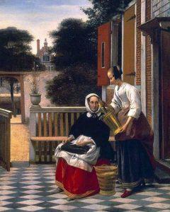 Хозяйка и служанка