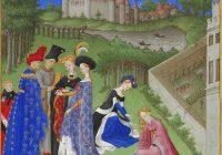 Костюм готической эпохи (1200-1450)