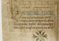 Лекционарий из Луксёйля (Lectionnaire de Luxeuil), ок. 700, аббатство Луксёйль \ BNF (BnF, lat. 9427)