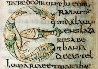 Евангелие Гундогина (Гундохина) VIII век, Луксёйль? — городская библиотека г. Отён, Франция (MS. 3)