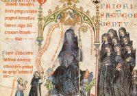 Пассионарий (пассионал) аббатисы Кунгуты (1313—1321, Прага / Национальная библиотека республики Чехия)